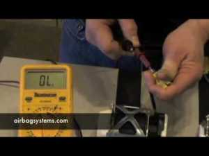 Airbag Systems How to Test a Seatbelt PreTensioner  YouTube