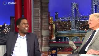 Chris Rock on David Letterman December 11th 2014 Full Interview