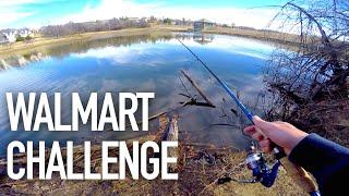 $50 Walmart Bass Fishing Challenge — ft. Andrew Flair, APbassin