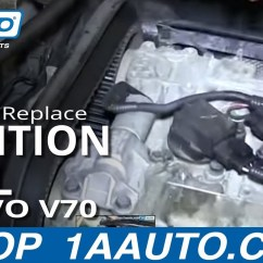 Volvo V70 Wiring Diagram Ford Fiesta Mk7 Radio How To Install Replace Engine Ignition Coil 1999-2007 - Youtube
