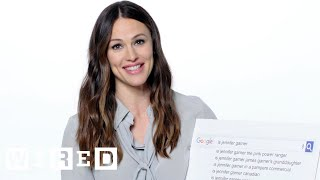 Watch Jennifer Garner Answers the Web's Most Searched Questions | WIRED Video