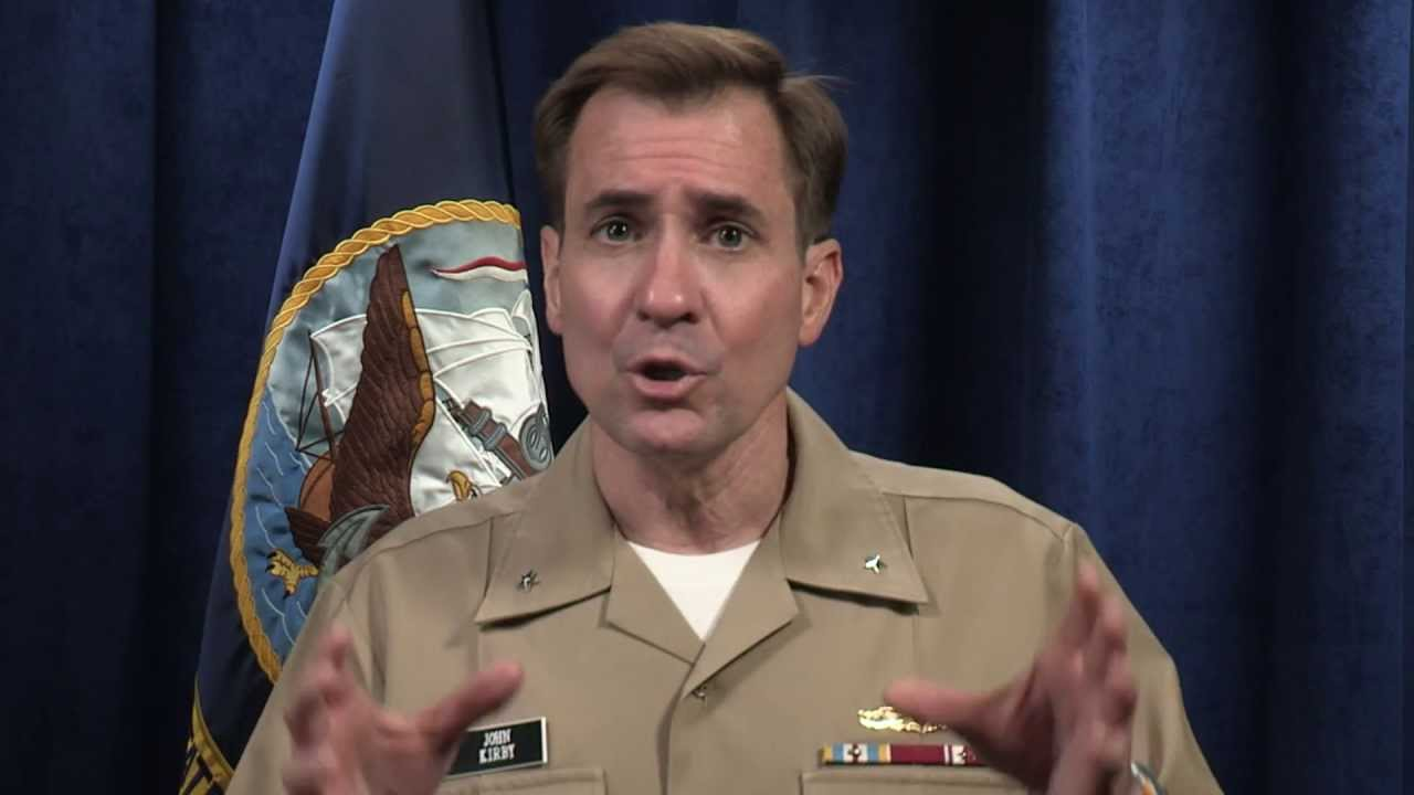 Rear Admiral John Kirby