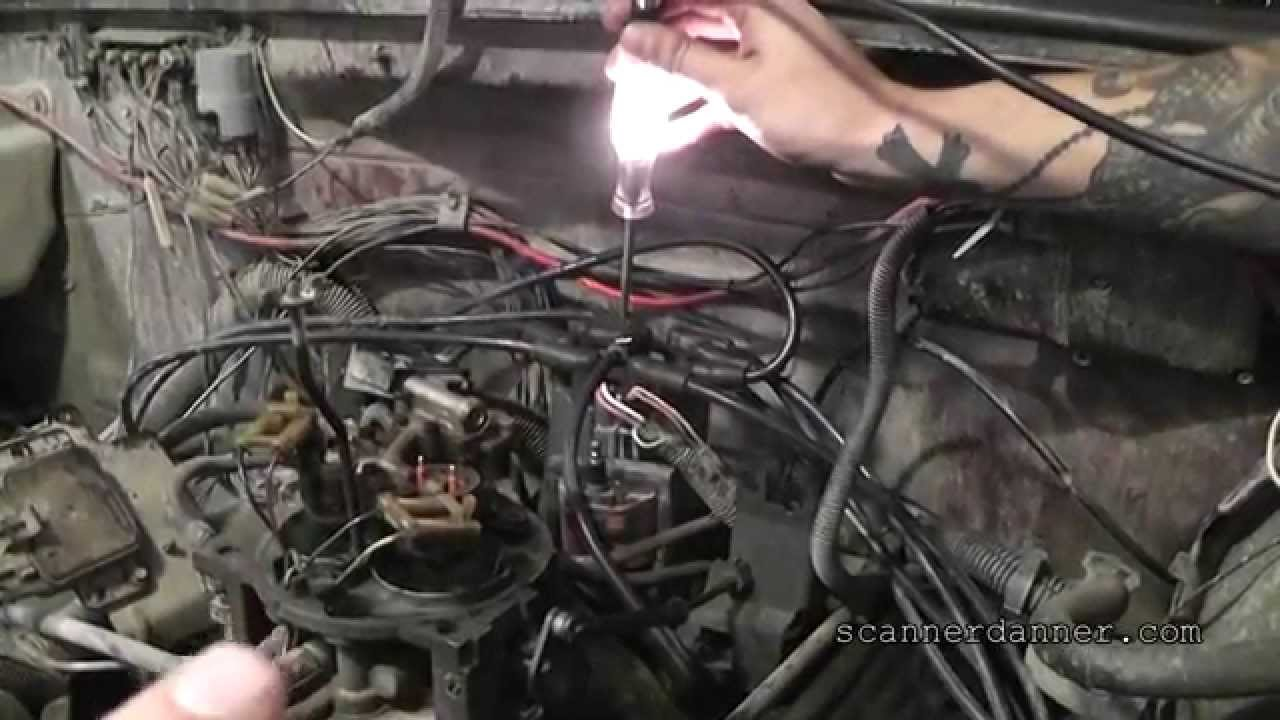 hight resolution of how to test an ignition coil module with a test light distributor ignition gm youtube