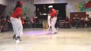 Rumba Cubana Guaguanco, Niurka Aguero e Ariel Bridon