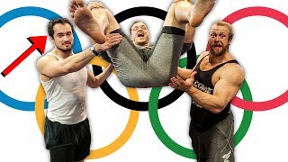 Are Weightlifters Really Explosive? *BACKFLIP CHALLENGE*