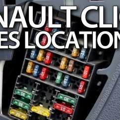Renault Master 2005 Wiring Diagram Audio For 2004 Silverado Where Are Fuses And Relays In Clio Ii / Thalia, Symbol, Dacia Logan - Youtube