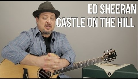 Download Music Ed Sheeran Castle On The Hill Guitar Lesson - Easy Chords Acoustic