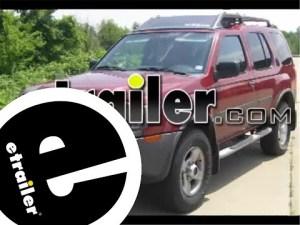 Trailer Hitch Installation  2004 Nissan Xterra  etrailer