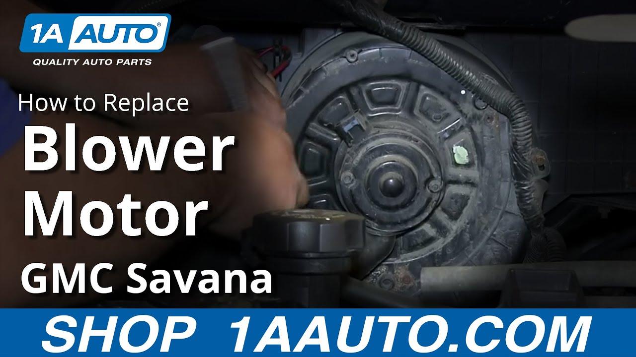 2004 Corvette Headlight Wiring Diagram How To Install Replace Ac Heater Fan Blower Motor 1997