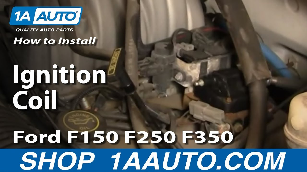 1987 Ford F 150 Tfi Wiring Diagram How To Install Replace Ignition Coil Ford F150 F250 F350 5