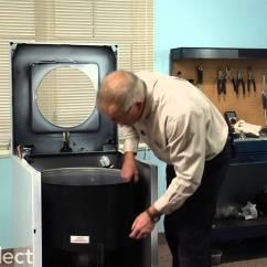 Kitchen Aid Washer Home Styles Cart Washing Machine Repair- Replacing The Tub Bearing Kit ...