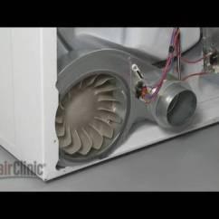 Ge Electric Motor Wiring Diagram 2001 7 3 Powerstroke Glow Plug Relay Dryer Blower Wheel Replacement – Whirlpool/kenmore Repair (part #694089) - Youtube