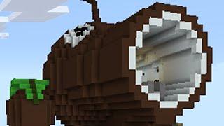 Minecraft vs Zombies | COCONUT CANNON!! (Firing Range) | PvZ Land
