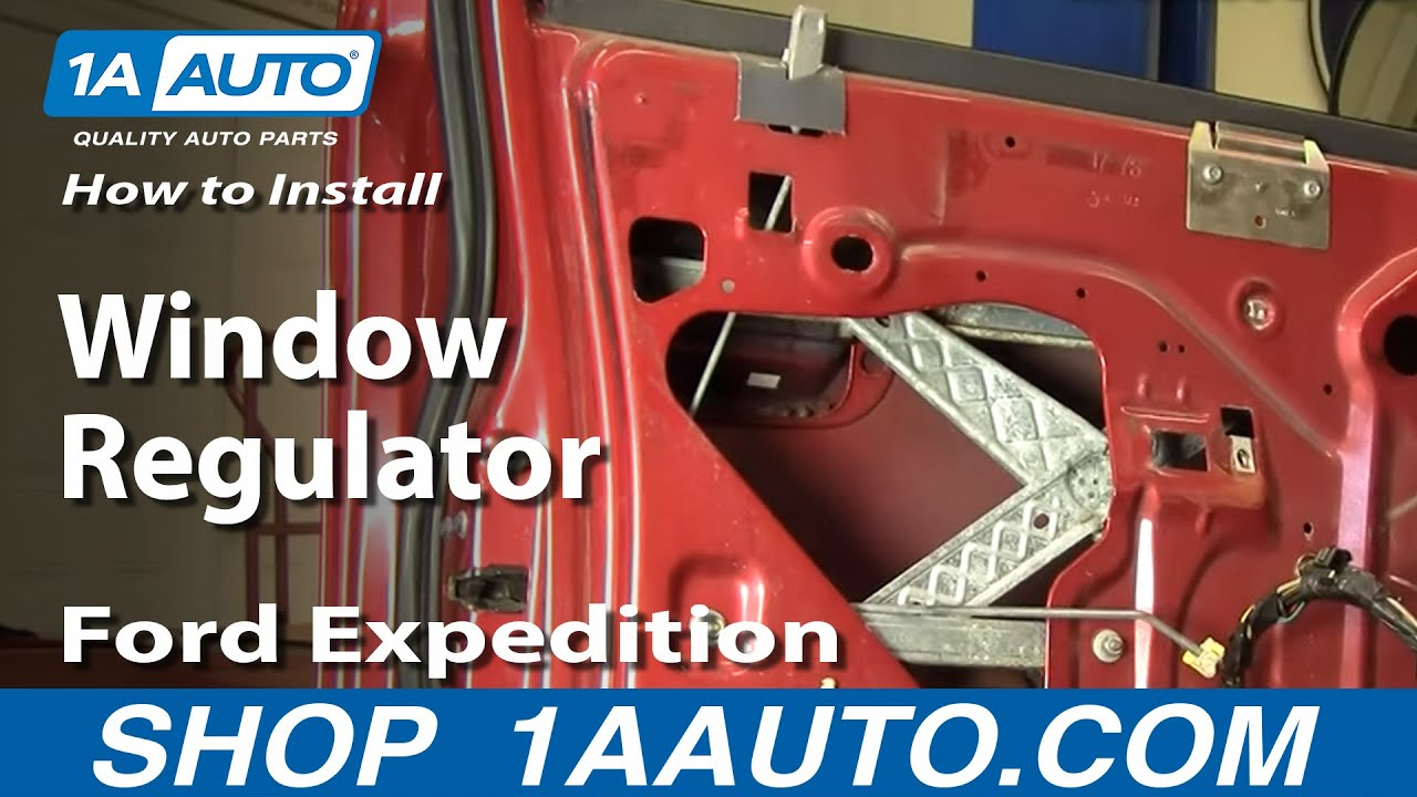 1999 ford windstar wiring diagram econoline radio how to install replace window regulator 97-02 f-150 expedition 1aauto.com - youtube