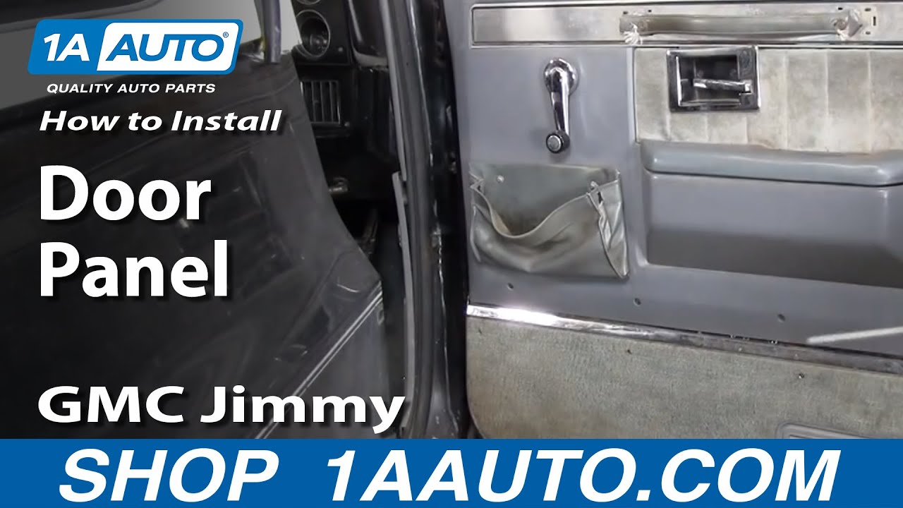 1967 Chevy C20 Wiring Diagram How To Install Replace Remove Door Panel 73 87 Chevy Gmc