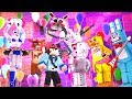Minecraft FNAF Sister Location HIDE AND SEEK - TOY BONNIES SECRET FLOOR! (Minecraft Roleplay)