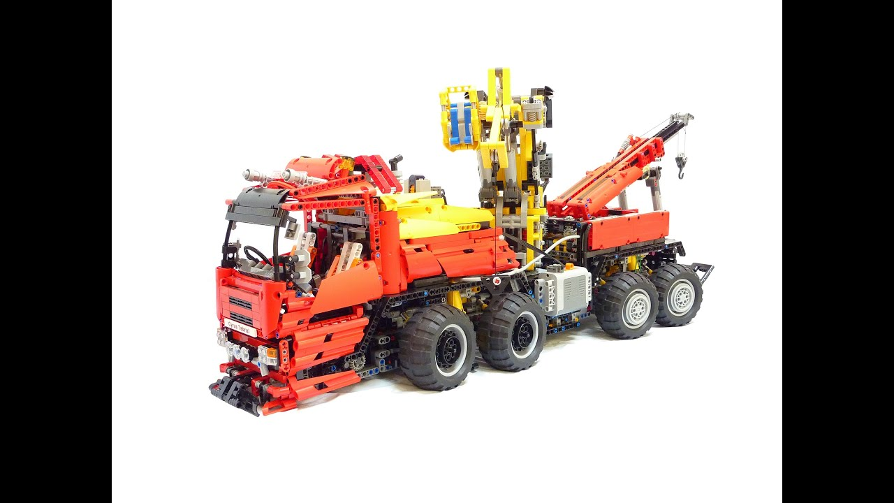 Lego RC Tow Truck 12 Pounds of Technic 14 Functions 1