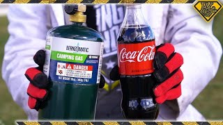 Mixing Coke With Propane Doesn't Do What You Think It Does