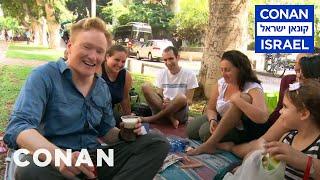 Conan Hits The Streets & Beaches Of Tel Aviv - CONAN on TBS