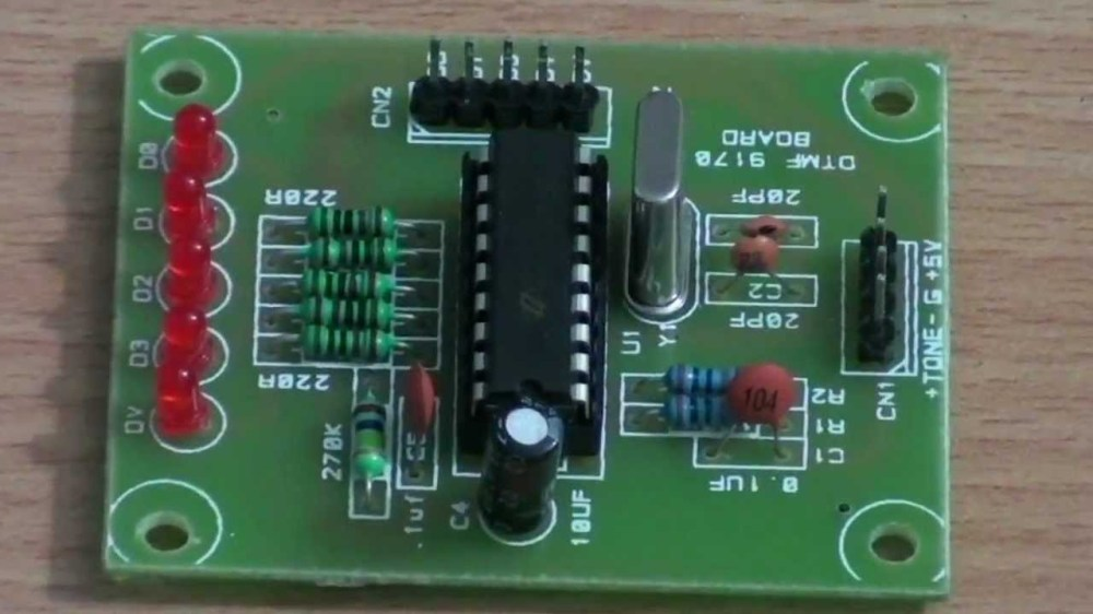 medium resolution of dtmf decoder circuit youtube