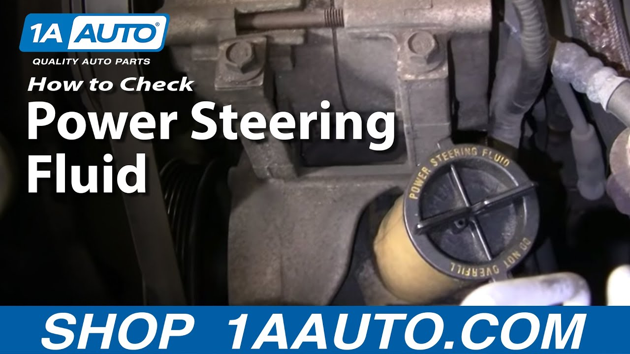 Fuse Box Diagram Auto Repair How Do I Check Add Power Steering Fluid To My
