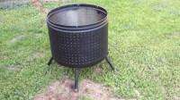 Washing Machine Fire Pit - YouTube