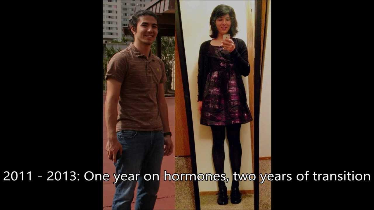 hormone mtf transition stories