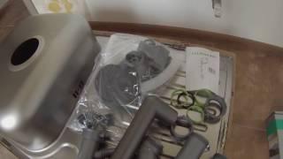 Обзор кухонной мойки FRANKE POLAR PXL 611-78 (101.0330.657) декор