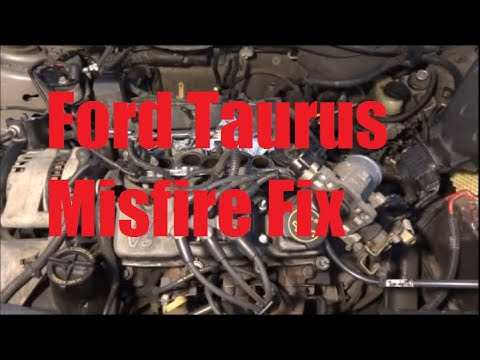 2008 Lincoln Wiring Diagram 2002 Ford Taurus Misfire Fix Fuel Injector Youtube