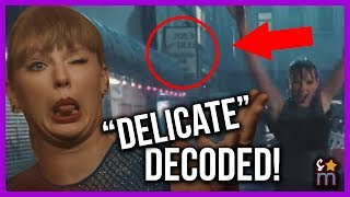 Taylor Swift ″Delicate″ Music DECODED! Meaning, Easter Eggs, Hidden Messages