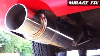 Mirage Fix 16 | Ebay 4″ Tip N1 Stainless Exhaust Muffler