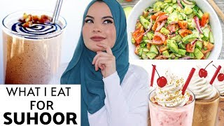 WHAT I EAT FOR SUHOOR | OMAYA ZEIN