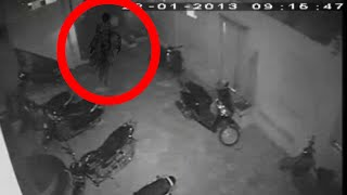 Real Scary Ghost Caught On Tape In a Bike Parking | Shocking CCTV footage | Tape 18