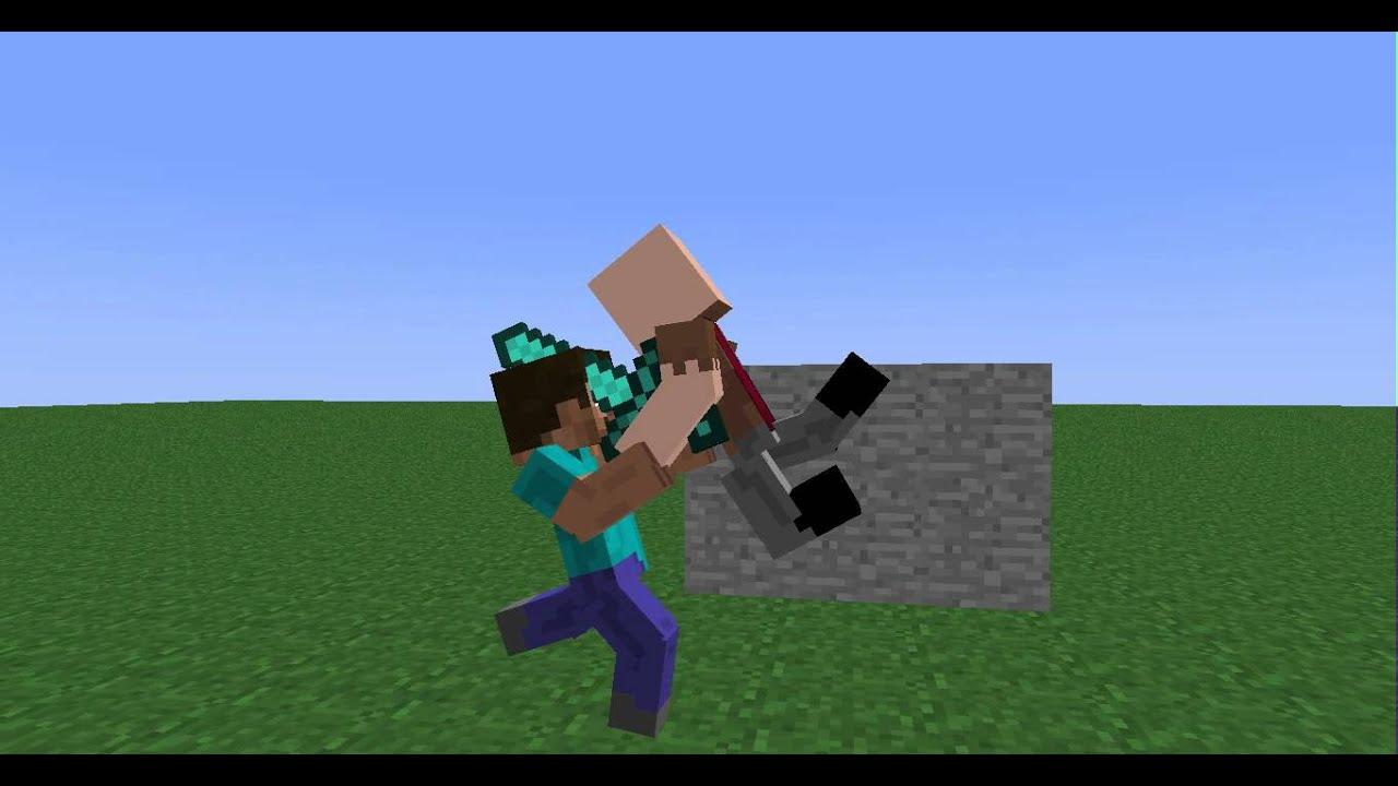 Notch And Herobrine Minecraft