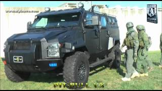 Alpine Armoring Pit Bull VX Armored SWAT Truck