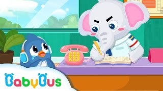 ❤ What To Do If You Got Lost | Kids Cartoon | Play Safe | Animation For Babies | BabyBus