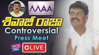 Sivaji Raja Controversial Press Meet LIVE | MAA | Actor Naresh | YOYO Cine Talkies