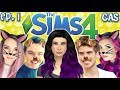 The Sims 4: Raising rs as PETS - Ep 1 (CAS & House Tour | Cats & Dogs Expansion)