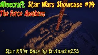 Minecraft Star Wars Ep14 Showcase The Force Awakens StarKiller Base by Ervinache235