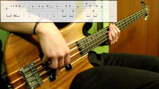 Red Hot Chili Peppers - Can't Stop (Bass Cover) (Play Along Tabs In )