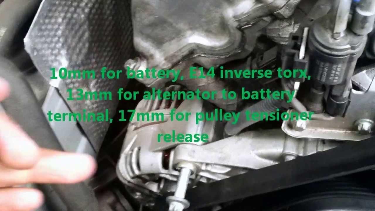 2003 Jeep Cherokee Fuse Diagram 2002 Mercedes C240 Alternator Removal Youtube