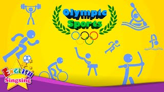 Kids vocabulary - Olympic Sports - Game of Sports - Learn English for kids - educational