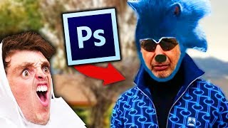 Watch absolutely awful PHOTOSHOPS Video