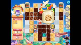 Cookie Jam Level 5397(with mandatory boosters)