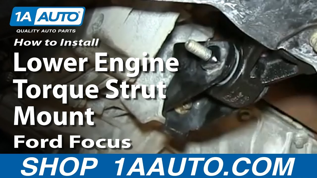 2003 Jaguar X Type V6 Engine Diagram How To Install Replace Lower Engine Torque Strut Mount