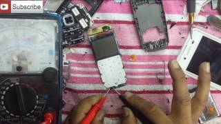 Nokia 1100,1110,1600,2310 Display Backlight Solution Repairing Done in Hindi Mobile Repairing