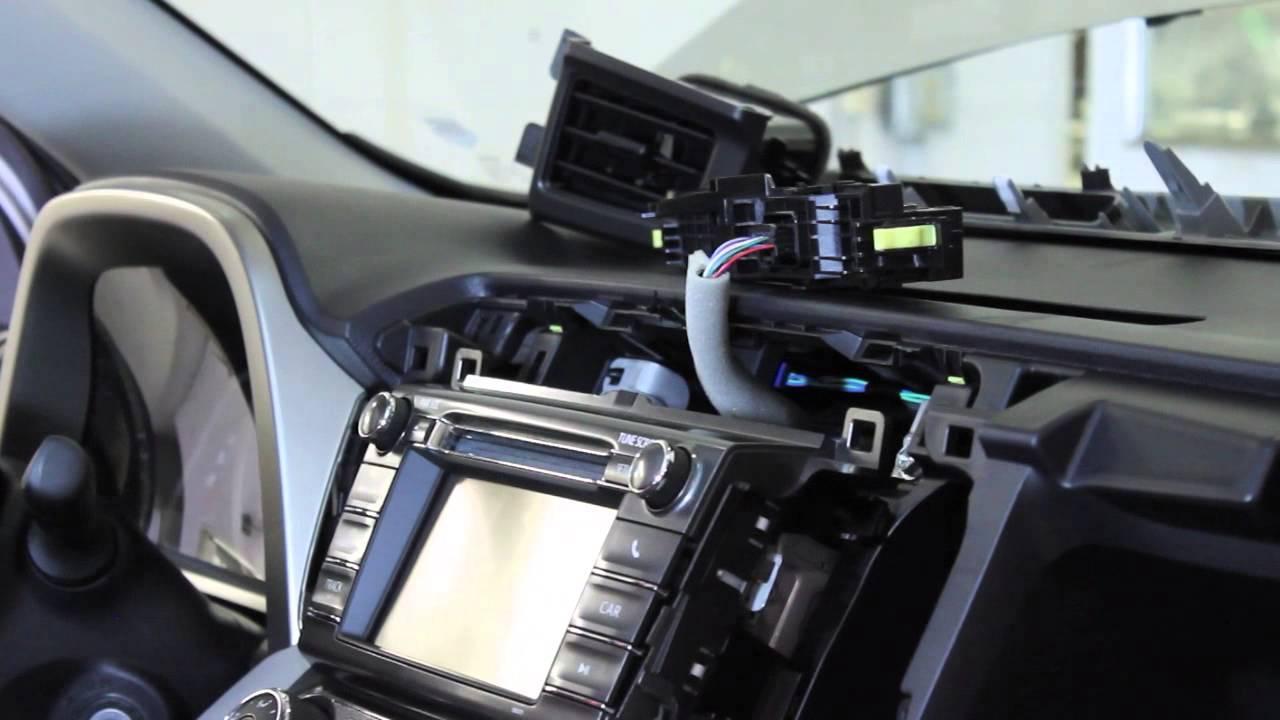 2004 Honda Cr V Radio Wiring Diagram 2013 2014 Rav4 Radio Removal Youtube