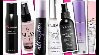 SETTING SPRAYS SHOW DOWN, THE BEST OF THE BEST!!! | Fumi Desalu-Vold