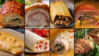 9 Mind-Blowing Party Food Rolls