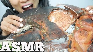 ASMR GIANT CLAW from a 15lb LOBSTER (EATING SOUNDS) NO TALKING | SAS-ASMR